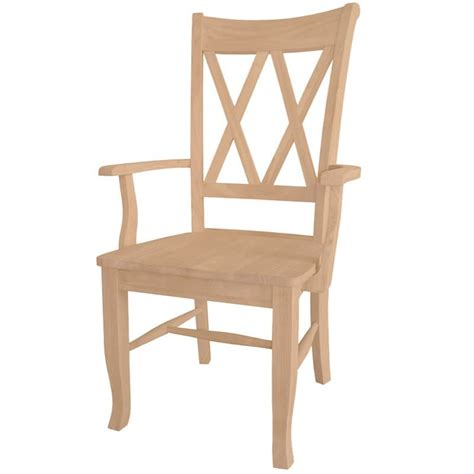 x back dining arm chair