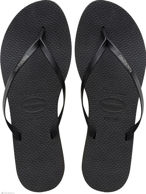 havaianas you s leather look flip flops