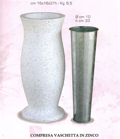 vasi per cimitero vaso in polvere di marmo bianco portafiori per cimitero