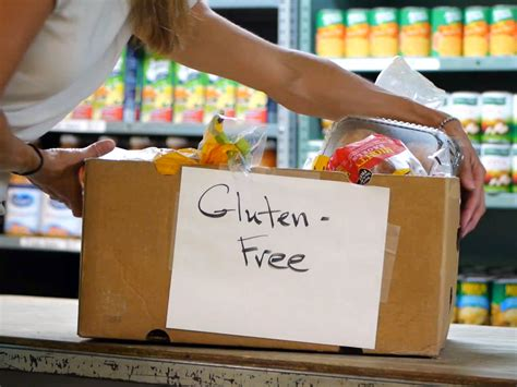 Free Food Pantry by Gluten Free Food Banks Bridge Celiac Disease And Hunger