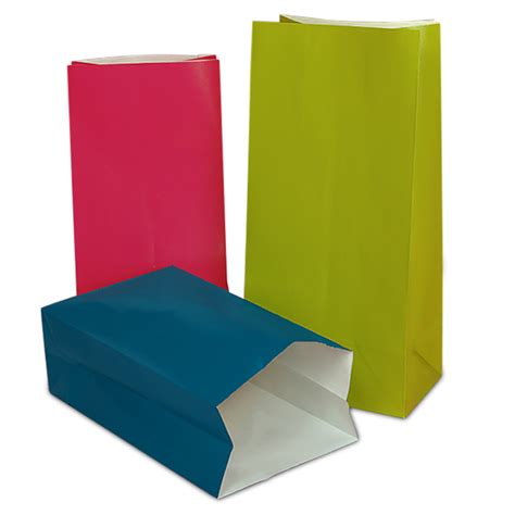 colored paper bags bags