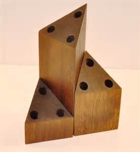 Get The Tables Post Modern Home 187 Wood Candle Holder