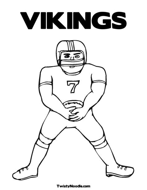nfl vikings coloring pages nfl vikings coloring pages www imgkid com the image