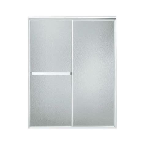 Sterling Plumbing Sterling 660b 56t Shower Door Bypass 65 Hammered Glass Shower Door