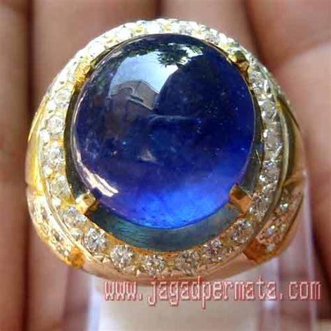 Batu Permata Blue Sapphire Cutting Africa 15 1 Carat blue safir jp133 jual batu permata hobi permata