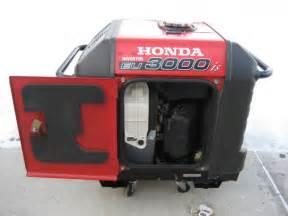 Honda Eu3000is For Sale Honda Eu3000is Inverter Generator Only 1 Year