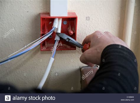 fitting of domestic and commercial electrical