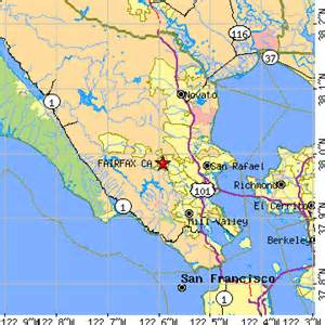 fairfax california map fairfax california ca population data races housing