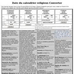 Calendrier Julien Conversion Calendrier Pearltrees
