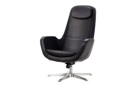 Preciosa  Fundas Para Sofas De Ikea #6: Sillon-giratorio-grann-de-color-negro.jpg