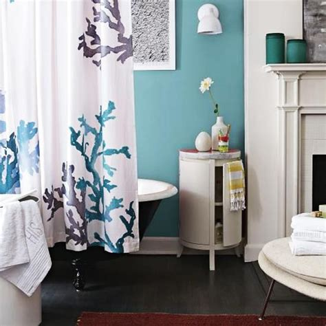 blue and coral bathroom 33 modern bathroom design and decorating ideas incorporating sea shell art and crafts