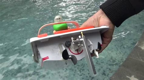 rc boat rudder rc twin inrunner 2040 motor 2s lipo twin propellers