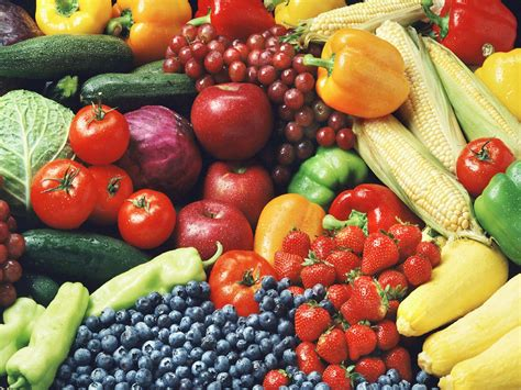 f ruit and vegetables shop healthy