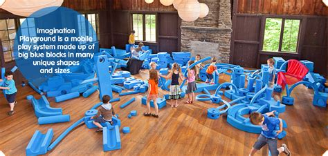 Gamis Big Size Blue faith could win a set of big blue foam playground blocks