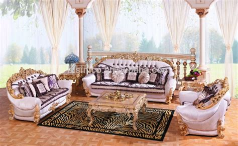 royal living room furniture luxury baroque collection royal living room furniture exquisite wooden carved