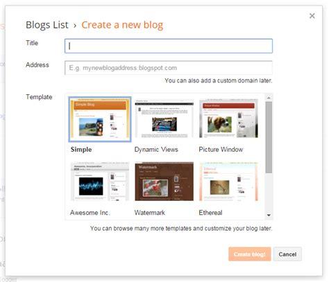 membuat blog sendiri gratis cara membuat blog gratis sendiri aripratama com