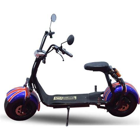 quality motors elektrikli scooter ingiliz bayragi  fiyati