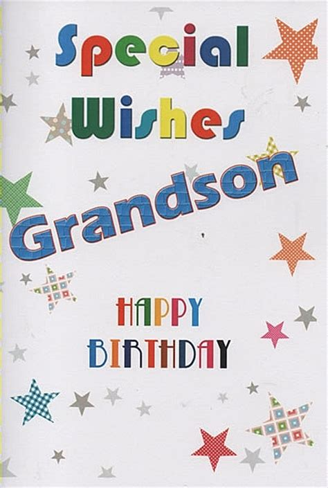 Happy Birthday Wishes To Grandson Birthday Wishes For Grandson Page 4