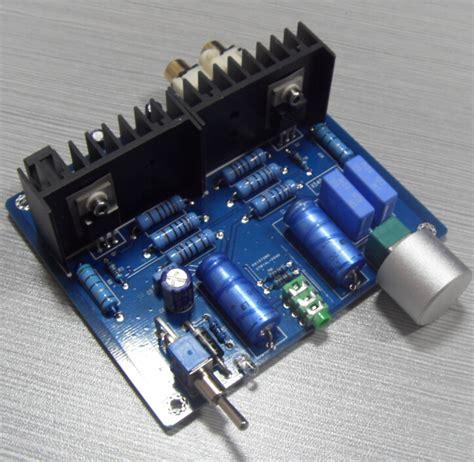 diy transistor lifier kit diy audio kit lifier irf540 field effect transistor single plate inelectronic data