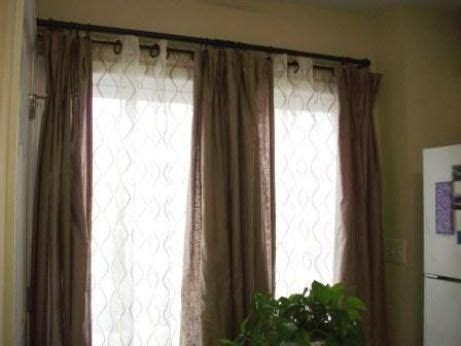 double hung curtains 25 best ideas about double window curtains on pinterest