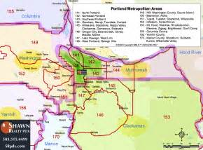 Portland Area Map by Before Moving To Portland Shawn Realty Pdx