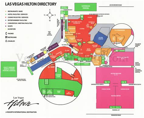 Las Vegas Casino Floor Plans | las vegas casino property maps and floor plans