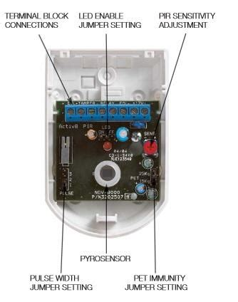 honeywell pir sensor wiring diagram home alarm circuit