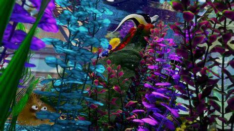 Finding Nemo Fish Tank Volcano Scene Loading