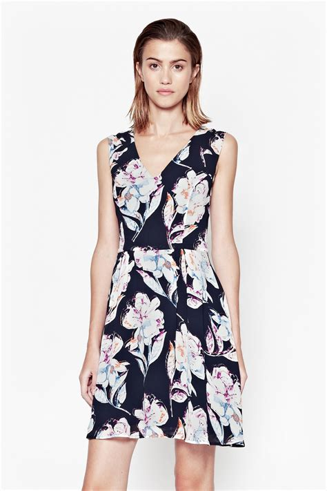 New Dress Bloomy Cs shadow bloom flared dress dresses connection usa