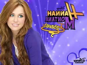 Miley cyrus tv series hannah montana wallpaper