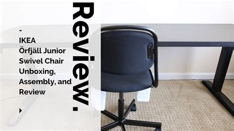 ikea study swivel chair ikea 214 rfj 228 ll junior swivel chair unboxing assembly and