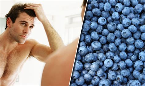 Male Pattern Hair Loss Diet | hair loss diet eating blueberries could slow down male