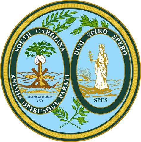 south carolina colors seal of south carolina