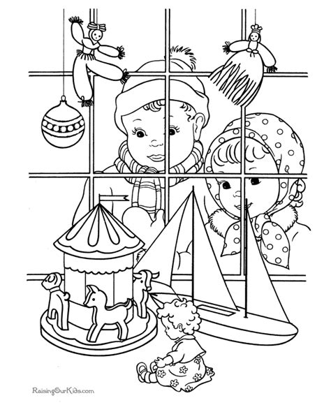 vintage baby coloring pages vintage christmas coloring pages coloring home