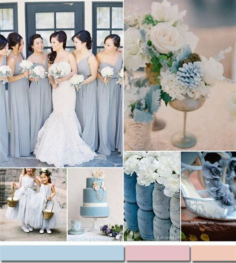 top 10 summer wedding color ideas trends 2015 part i dusty blue light blue