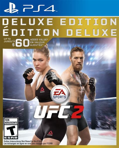 Sale Bd Ps4 Ufc Reg 3 New ufc 2 deluxe edition playstation 4