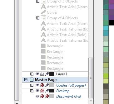 corel draw x6 layers master layers bug corrupt file coreldraw x6