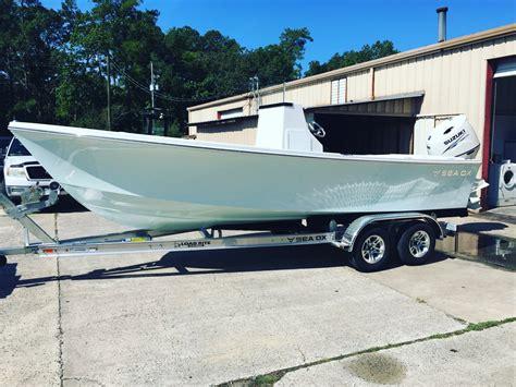 sea fishing boat hull 2017 sea ox full transom 21 the hull truth boating