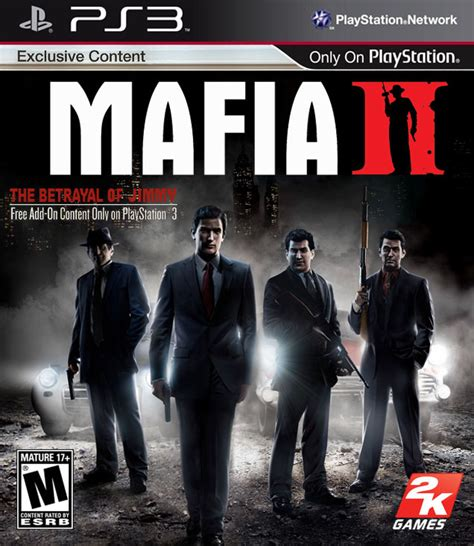 Mafia Ii Ps3 Cd mafia ii box for playstation 3 gamefaqs