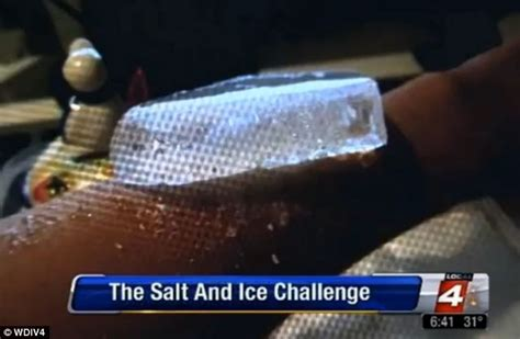 what is the salt and challenge you tried the salt and burn challenge yet