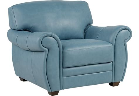 martello blue leather chair leather chairs blue