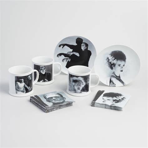 Plate Mug universal monsters mug and plate collection world market