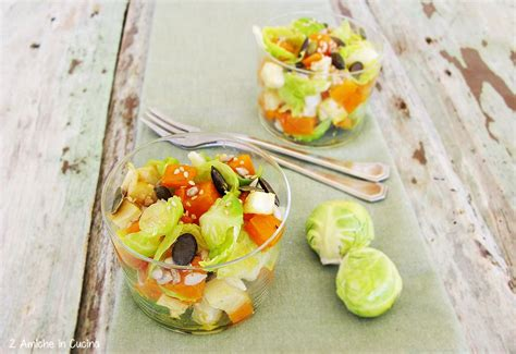 insalata sedano rapa insalata di zucca e sedano rapa con cavolini di bruxelles