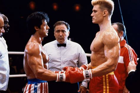andy fairhurst manages to knock out balboa and drago with
