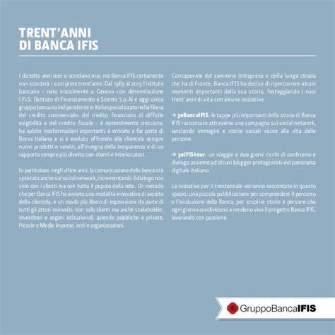 Banca Ifis Genova by Trent Anni Di Banca Ifis