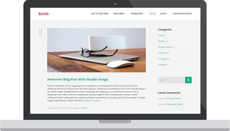 wordpress theme layout builder free bento the ultimate free wordpress theme