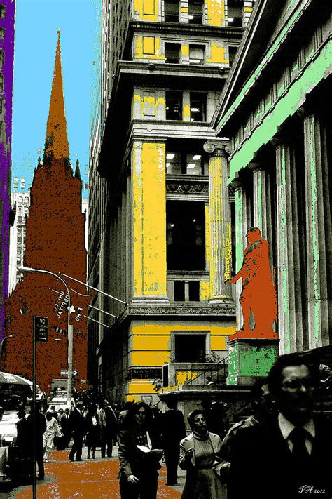 pop gallery new york new york pop blue green yellow painting by