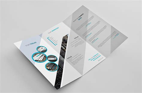 tri fold brochures templates free 5 tri fold brochure templates free graphics