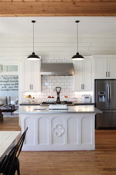 kitchen island farmhouse island magnolia homes hgtv fixer upper fixer upper