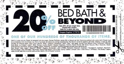 in store bed bath and beyond coupon bed bath and beyond coupons printable coupons in store
